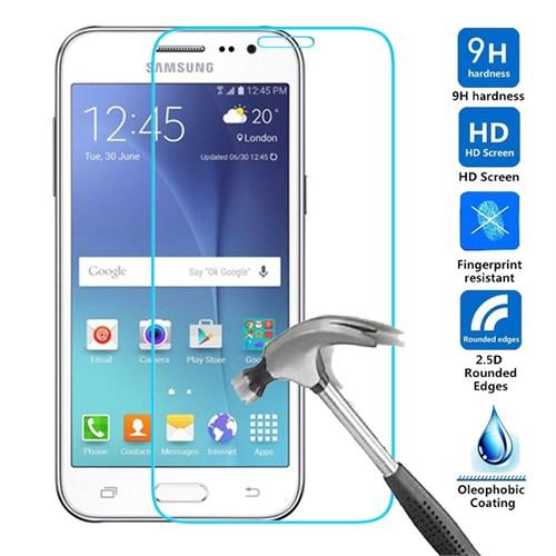 Samsung J2 Kırılmaz Cam