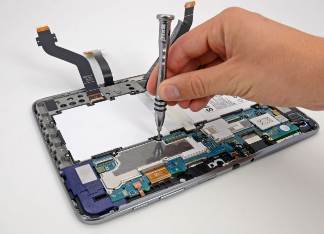 tablet  tamir dünyası
