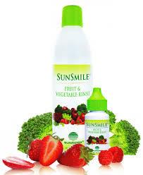 SunSmile Fruit & Vegetable Rinse / SunSmile Meyve & Sebze Yıkayıcısı 30 ml