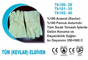 Tüm (Kevlar) Eldiven TK100-28