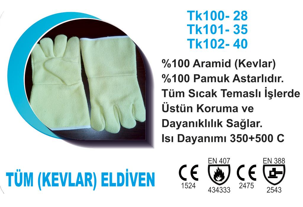 Tüm (Kevlar) Eldiven TK101-35