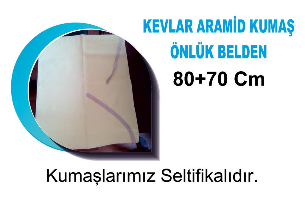 Kevlar Aramid Kumaş Önlük Belden 80x70 CM