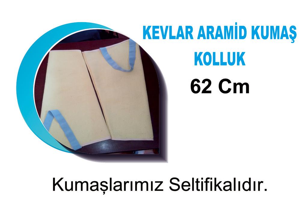 Kevlar Aramid Kumaş Kolluk 62CM