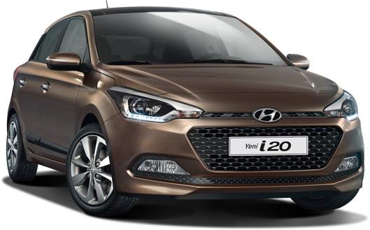 Kayseri Kiralık Hyundai İ20