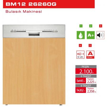 Bulasık Makinesi BM12 26260G