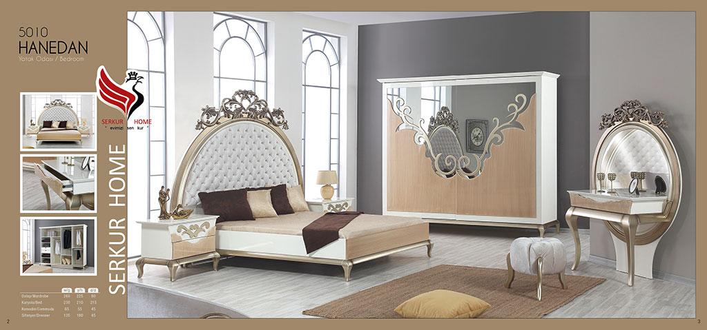 5010-Hanedan Yatak Odası