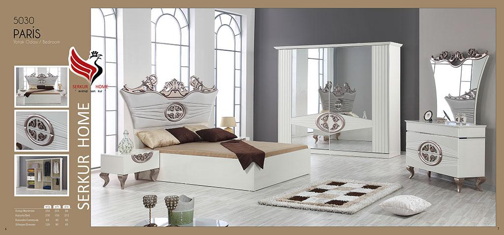 5030-Paris Yatak Odası