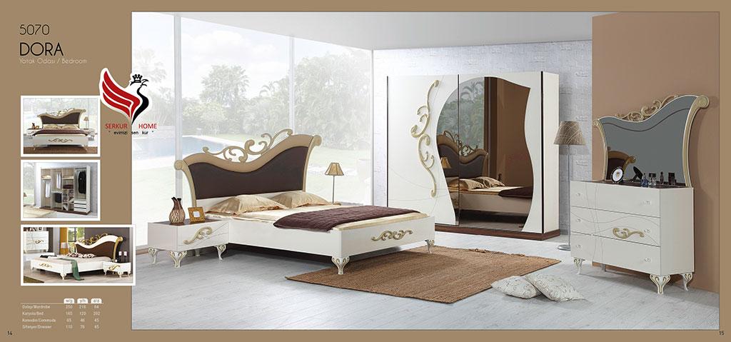 5070-Dora Yatak Odası