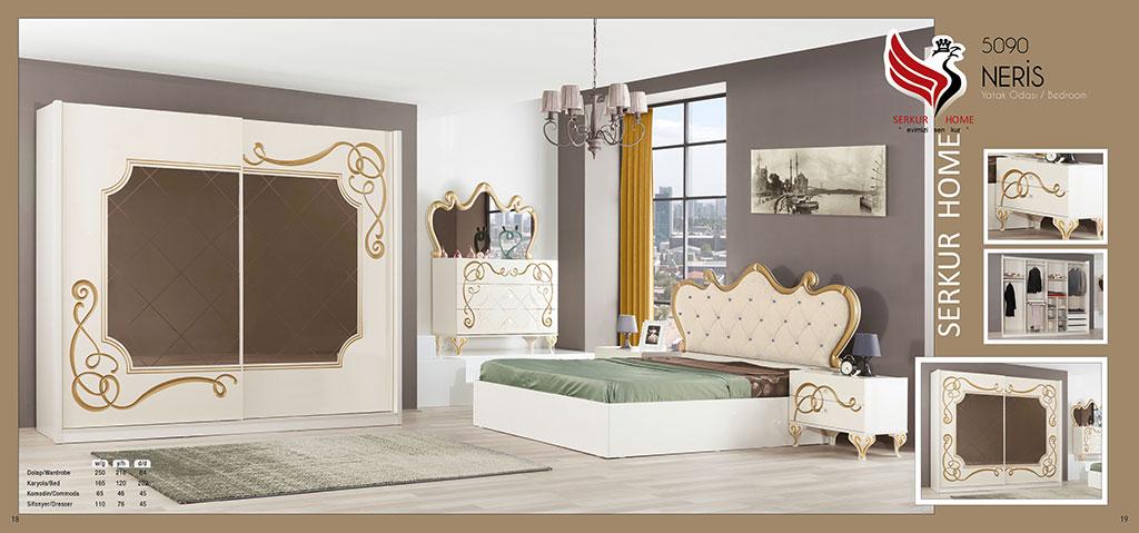 5090-Neris Yatak Odası