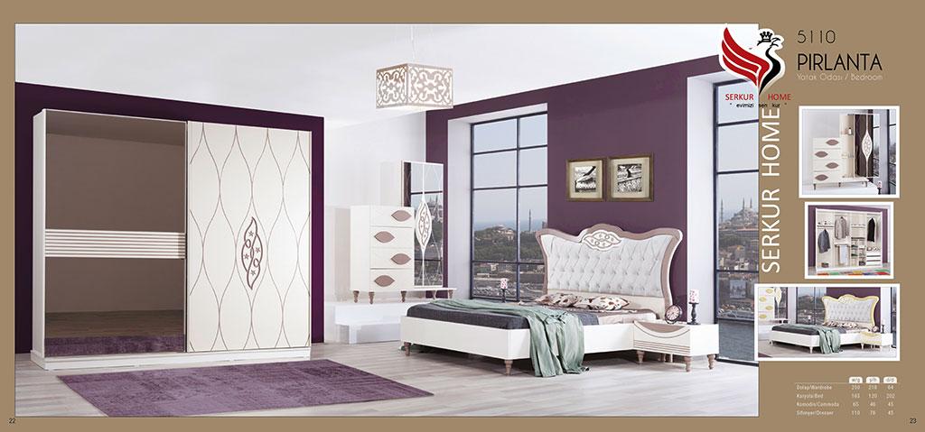5110-Pırlanta Yatak Odası