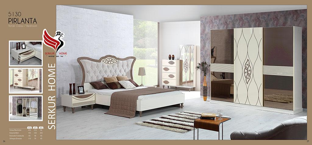 5130-Pırlanta Yatak Odası