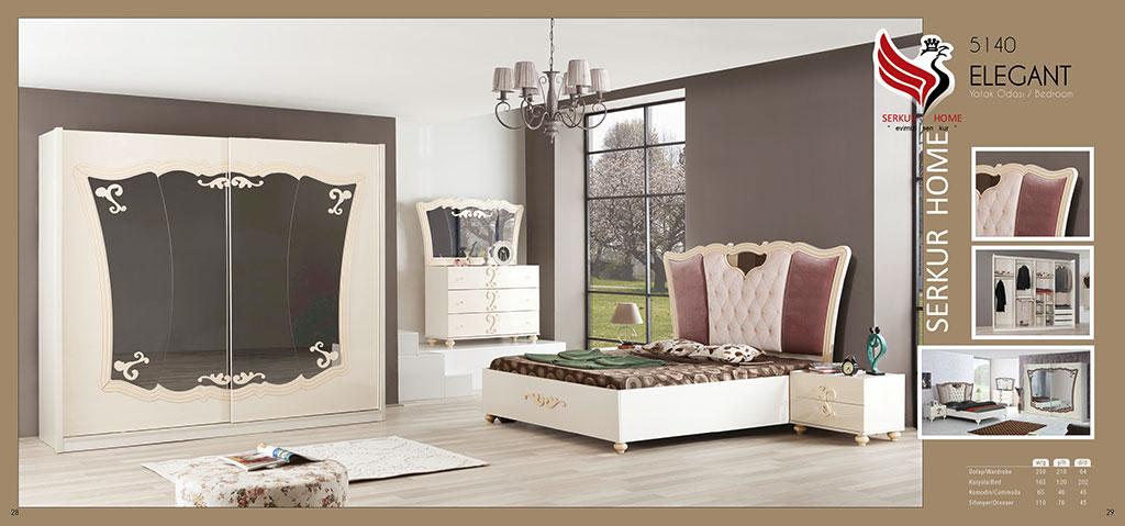 5140-Elegant Yatak Odası