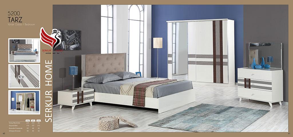 5200-Tarz Yatak Odası
