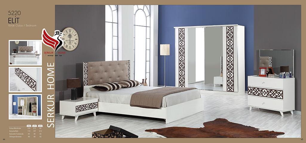 5220-Elit Yatak Odası
