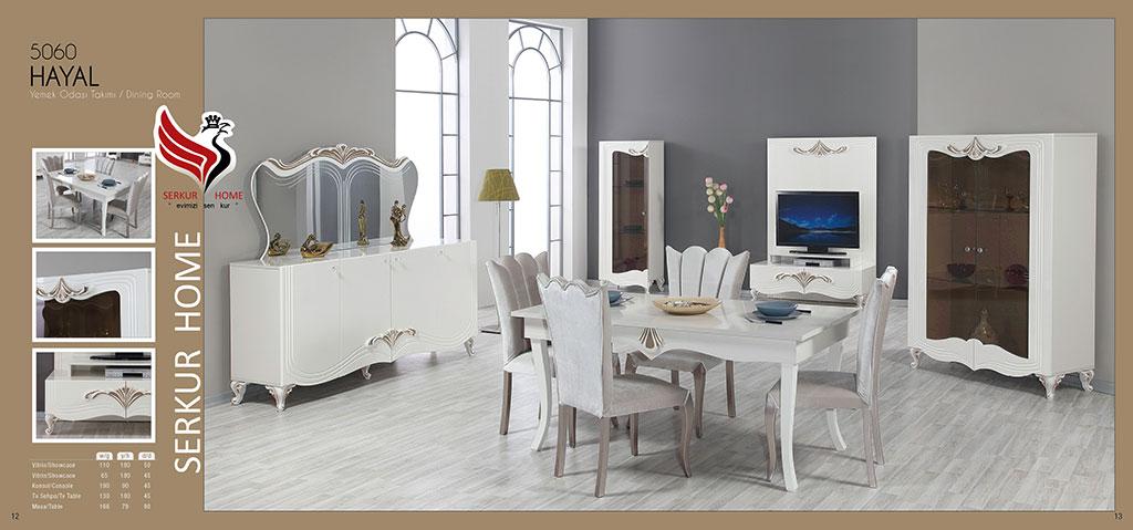 5060-Hayal Yemek Odası