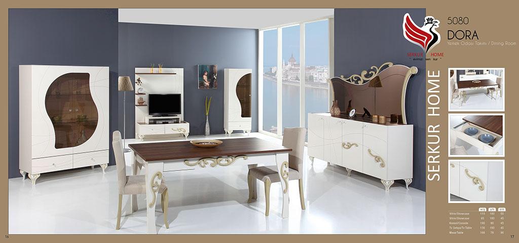 5080-Dora Yemek Odası