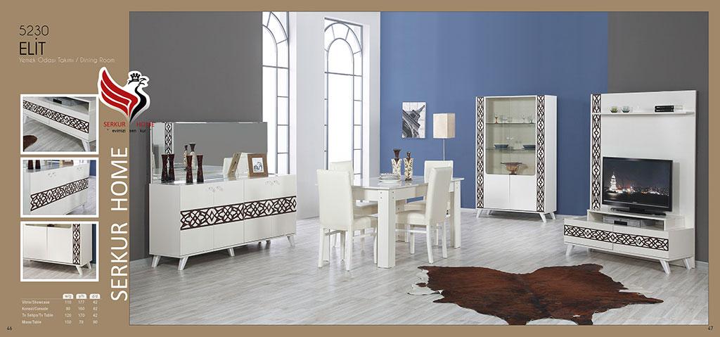 5230-Elit Yemek Odası