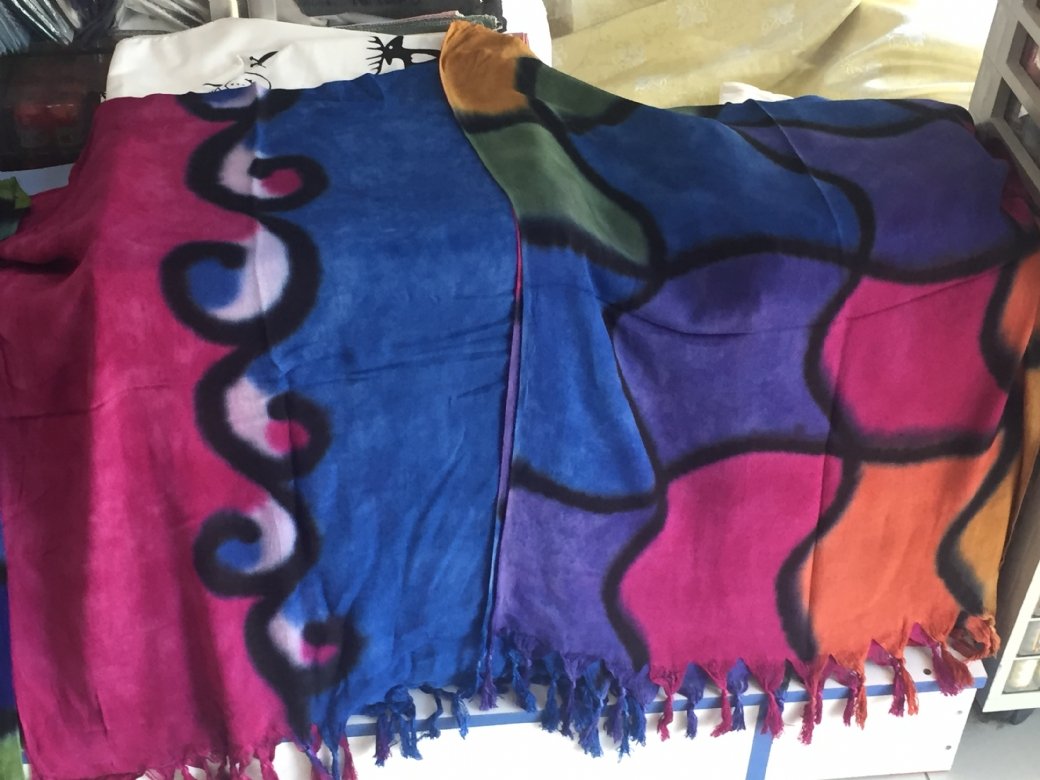 Batik şal pareo