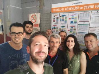 Bant Boru A.Ş. Gebze/Kocaeli ISO 14001:2015 Denetimi 2018